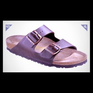 BIRKENSTOCK Brown Arizona Style Sandals